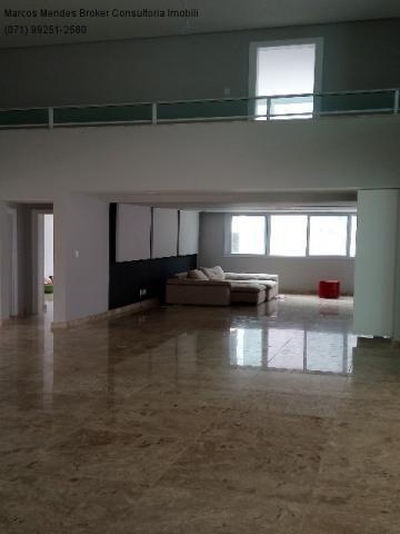 Linda casa pra venda ou locação - Alphaville Salvador 1. Lote diferenciado em parte alta.  - Foto 3