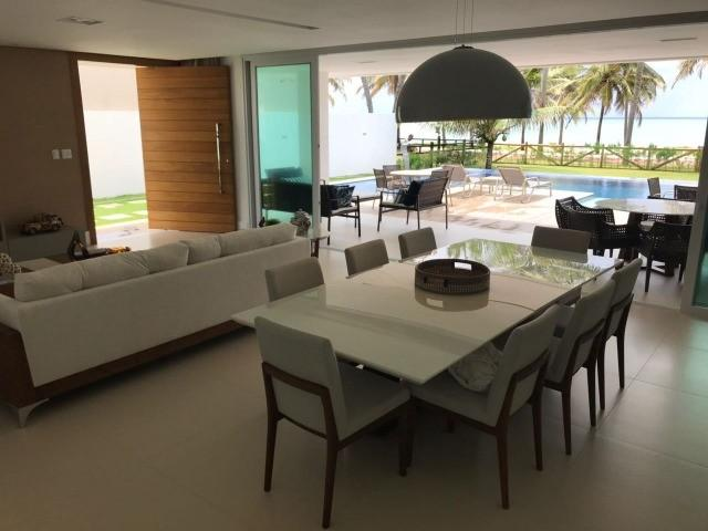 Guarajuba - casa de luxo totalmente mobiliada. venda e temporada. - Foto 10