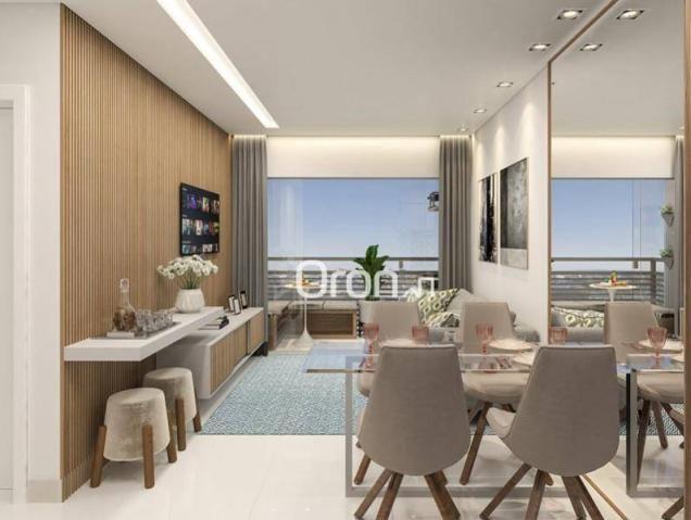Apartamento com 2 dormitórios à venda, 58 m² por R$ 203.000,00 - Vila Rosa - Goiânia/GO - Foto 9