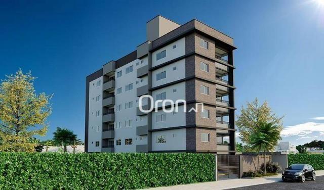 Apartamento com 2 dormitórios à venda, 58 m² por R$ 203.000,00 - Vila Rosa - Goiânia/GO - Foto 3