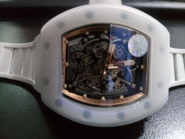 d7b69b022ed Relógio Richard mille Rm06 12x cartão - Bijouterias
