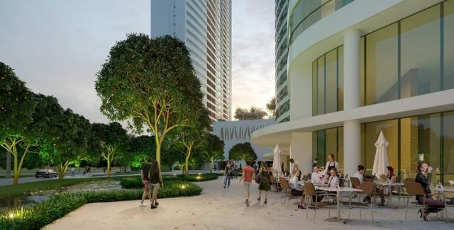 Parque no Cais flat com 1 quarto em Recife - Plano direto de pagamento - Foto 4