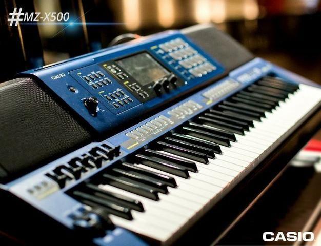 c81ea570728 Teclado Arranjador 61 Teclas Casio MZ-X500 Promoção - Loja Fisica Cascadura  RJ- Mzx500