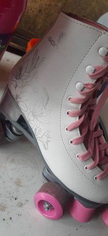 Vendo patins usado - Foto 3