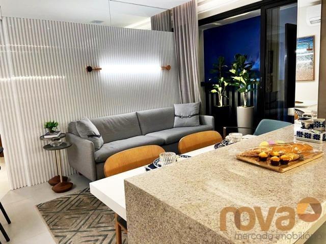 Apartamento à venda com 2 dormitórios em Setor bueno, Goiânia cod:NOV236000 - Foto 5