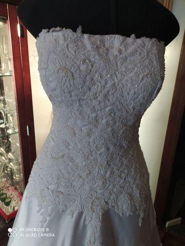 Vestido de Noiva de Renda - Foto 2