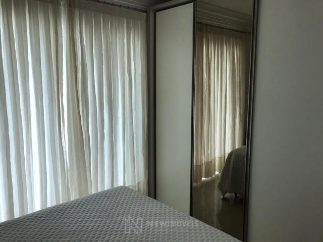 Apartamento Quadra Mar Mobiliado 3 Suítes - Foto 17