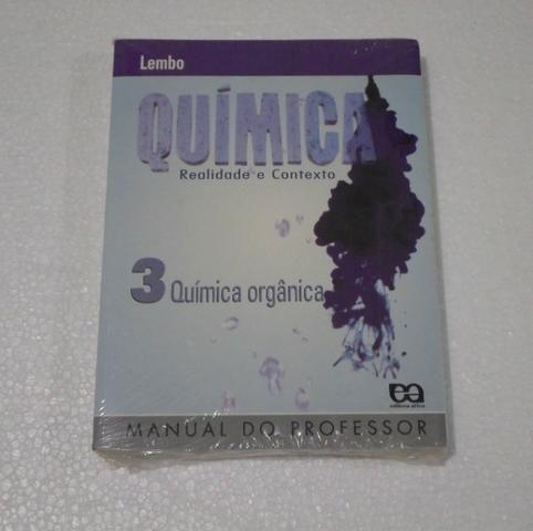 Química - Realidade e Contexto - Lembo - Volumes 1 e 3 - Novos e Lacrados - Foto 2