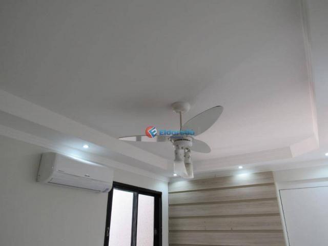 Apartamento com 2 dormitórios à venda, 42 m² por R$ 170.000 - Chácara Bela Vista - Sumaré/ - Foto 2