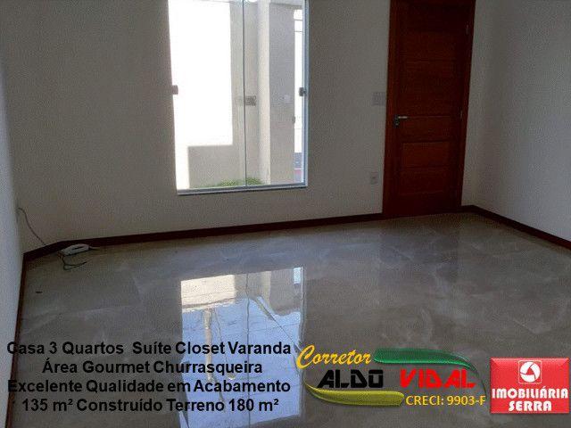 ARV 11. Casa 3 Quartos, Varanda, Suíte, Churrasqueira, Quintal Grande - Foto 9