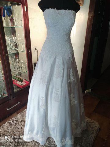 Vestido de Noiva de Renda - Foto 4