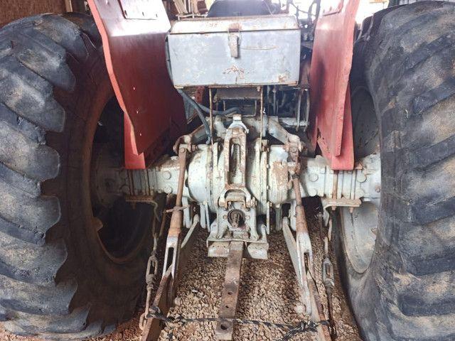Trator massey Ferguson 290 com lâmina - Foto 4