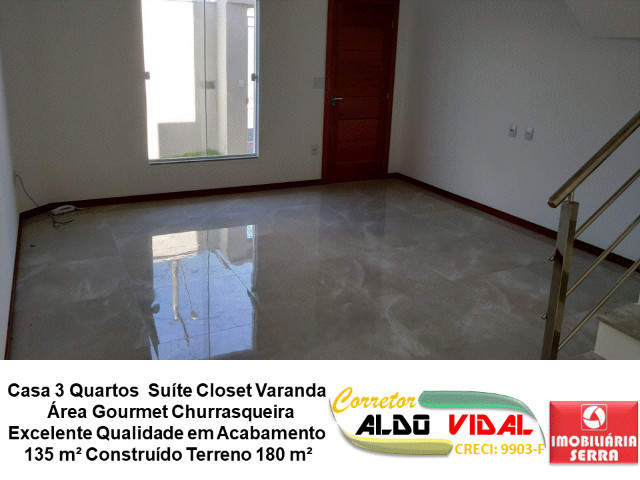ARV 11. Casa 3 Quartos, Varanda, Suíte, Churrasqueira, Quintal Grande - Foto 10