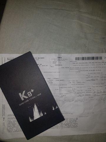 Lg k8+ lacrado com documento