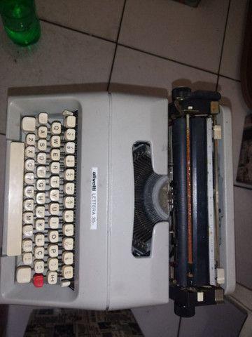 Máquina de escrever Olivetti lettera 35 - Foto 2
