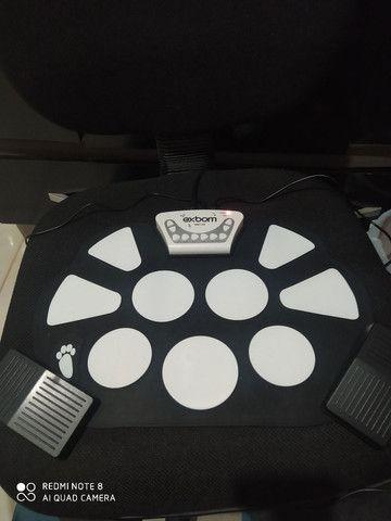 Bateria eletrônica de silicone EMT-S9 - Foto 2