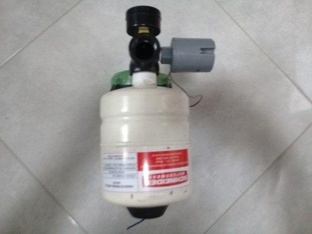 Bomba Dàgua Schneider Com Pressurizador 2 Litros Semi Nova - Foto 4