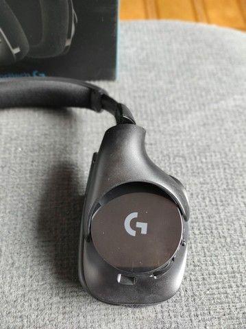 Hedset Logitech G533 Wireless Sem Fio - Foto 5