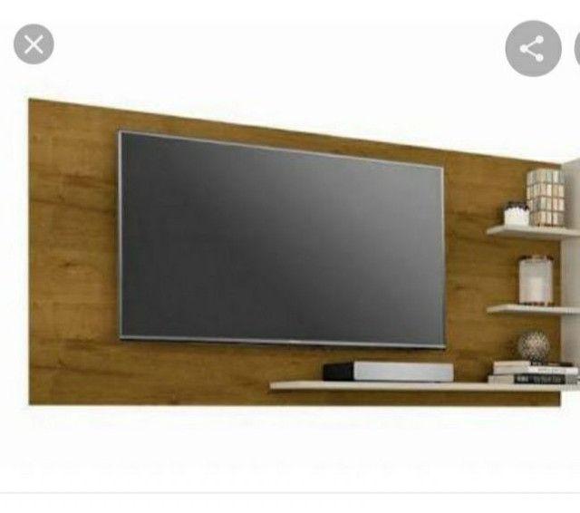 Painel para TV modelo compacto | Ótimo preço !! NOVO - pronta entrega - Foto 2