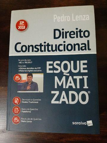 Livro Direito Constitucional Esquematizado