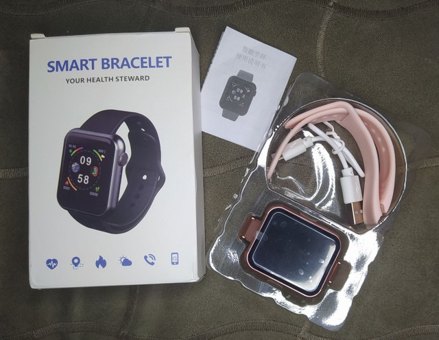 Relógio smartwatch V6 - Foto 4