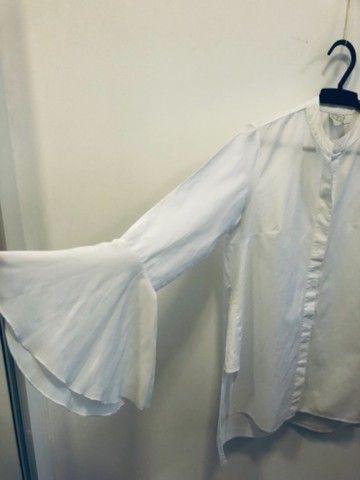 Camisa branca social feminina