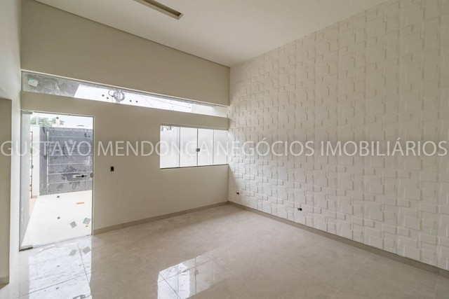 Linda casa nova no bairro Rita Vieira 1 - Alto padrão de acabamento e em excelente localiz - Foto 6