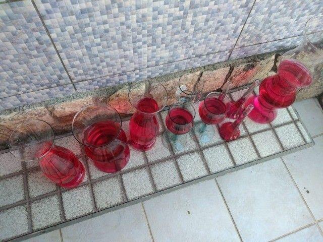 Vasos Em Vidro tipo Taça e Castiçal para Festa, Casamento e Flores - Foto 4