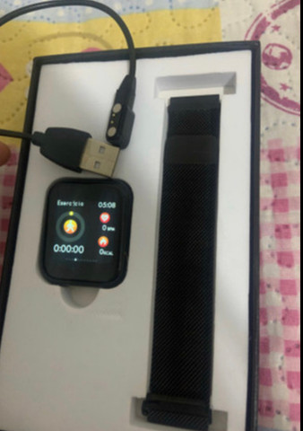 P70 relogio smartwatch - Foto 4