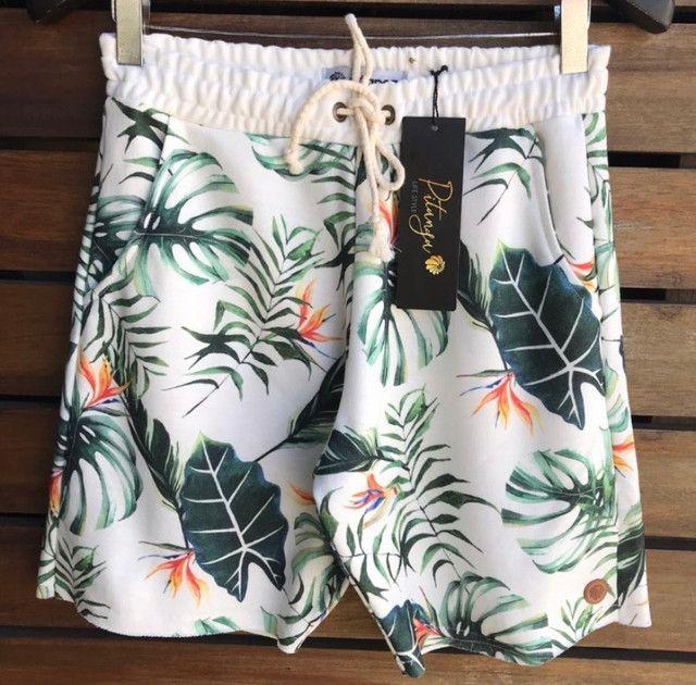Camisa machão / bermudas moletom / bermudas praia - Foto 4