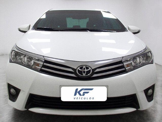 Toyota Corolla 2.0 XEI Blindado 2017 Branco Completo - Foto 2