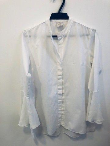 Camisa branca social feminina  - Foto 3