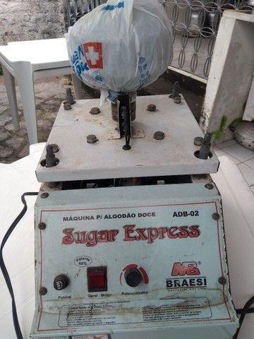 Venda máquina algodão doce - Foto 2
