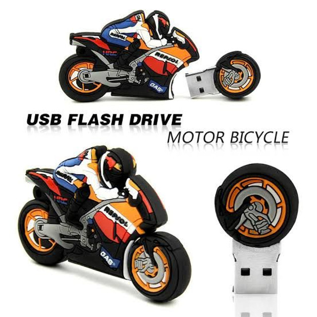 Pendriver 32gb tipo moto Honda e Yamaha