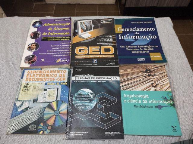 Livros sobre administração de sistemas de informações