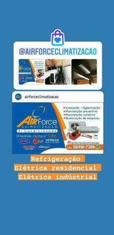 Ar condicionado instalação manutenção higienização infra-estruturas