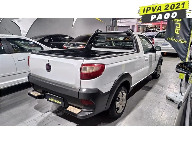 Fiat Strada 2017 1.4 mpi hard working ce 8v flex 2p manual - Foto 2