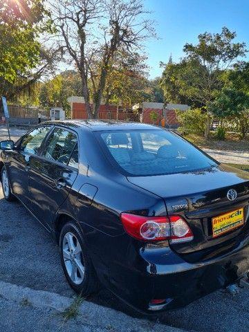 Corolla 2013 Automatico + Couro + GNV 5Ger Impecável Estado de Conservação - Foto 7