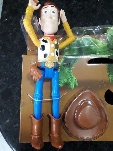Woody ou Buzz ou coelho ou cão ou robô toy story mattel novos - Foto 3