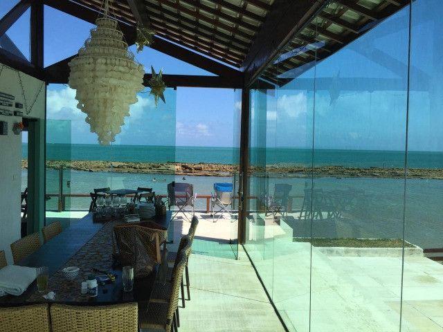 (RBA) Vendo incrível casa na beira-mar na praia de Serrambi, 500m², 7 suítes! - Foto 4
