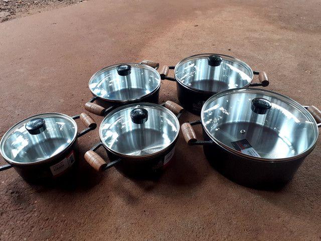 Panela Alumínio Batido No Crediario - Foto 2