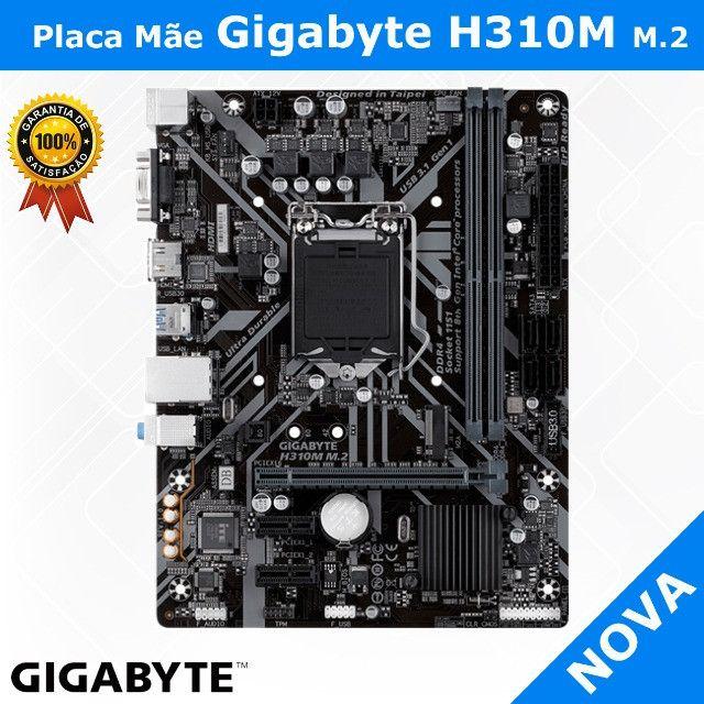 Placa Mãe Gigabyte H310M M.2, Chipset H310, Intel LGA 1151, mATX, DDR4 - Foto 3