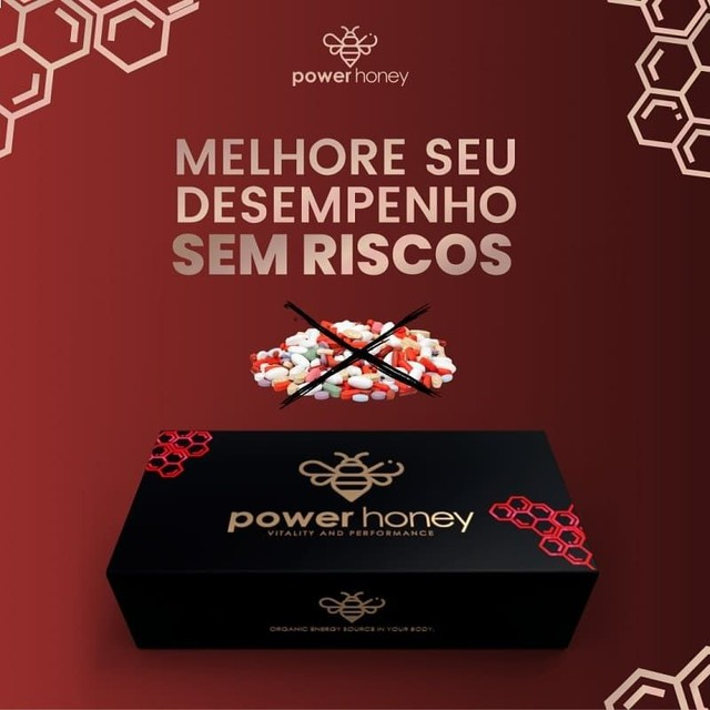 Mel do Amor Melzinho Power Honey Vip Vital Melzinho só Amor  - Foto 2