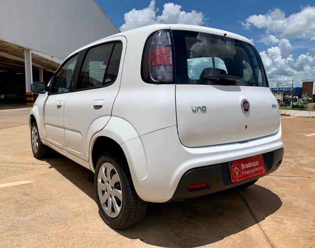 Fiat Uno Attractive 1.0 Flex 2019 60mil km - Foto 2