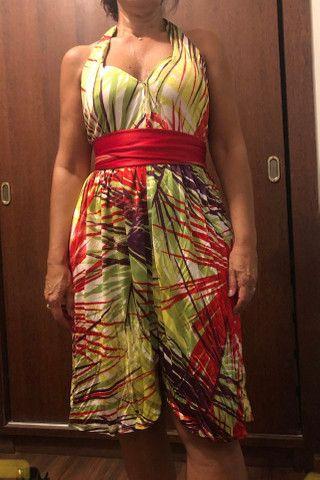 Vestido estampado patachou - Foto 2