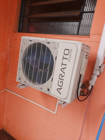 Ar condicionado agrato inverter 9000btus pouco tempo de uso
