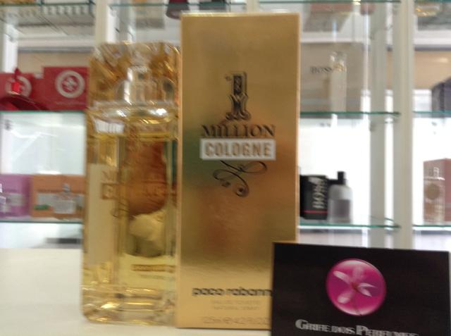 Perfume 1 million cologne edt 125ml paco rabanne