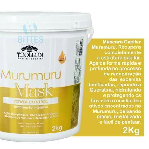 2 Pote de Murumuru Mask Hidratação Reconstrução, Cauterização Toollon Cosméticos - Foto 2