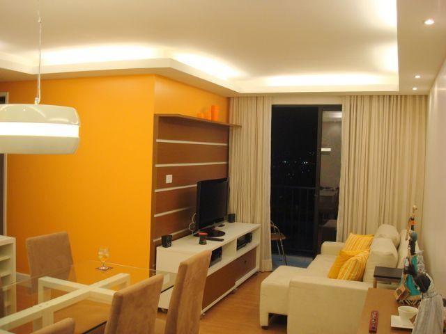Apartamento top decorado no Cabula, 3 quartos
