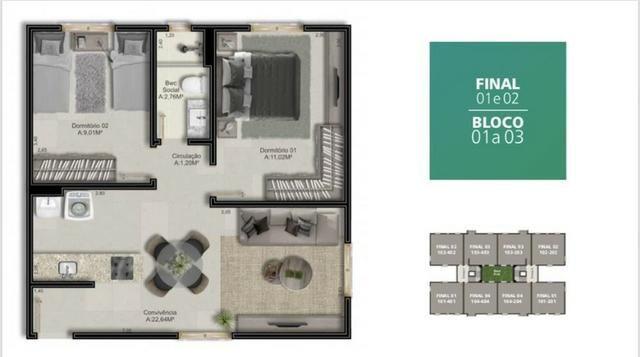 Apartamento a 5 Minutos do Centro - Foto 5